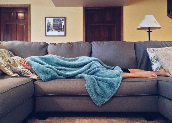 sleep on sofa